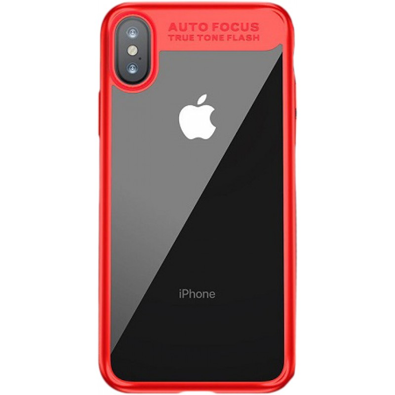 Чехол Baseus Suthin (ARAPIPHX-SB09) для Apple iPhone X (Red)