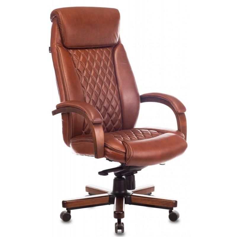 Офисное кресло Бюрократ T-9924WALNUT (Chocolate)