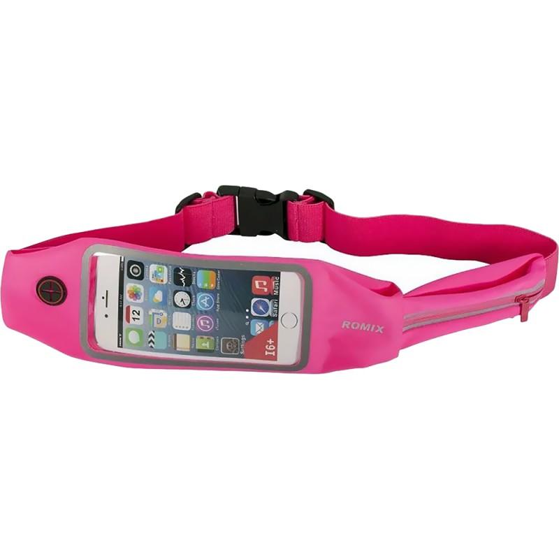 Спортивный чехол на пояс Romix Touch Screen Waist Bag (RH16-4.7RD) для смартфона 4.7