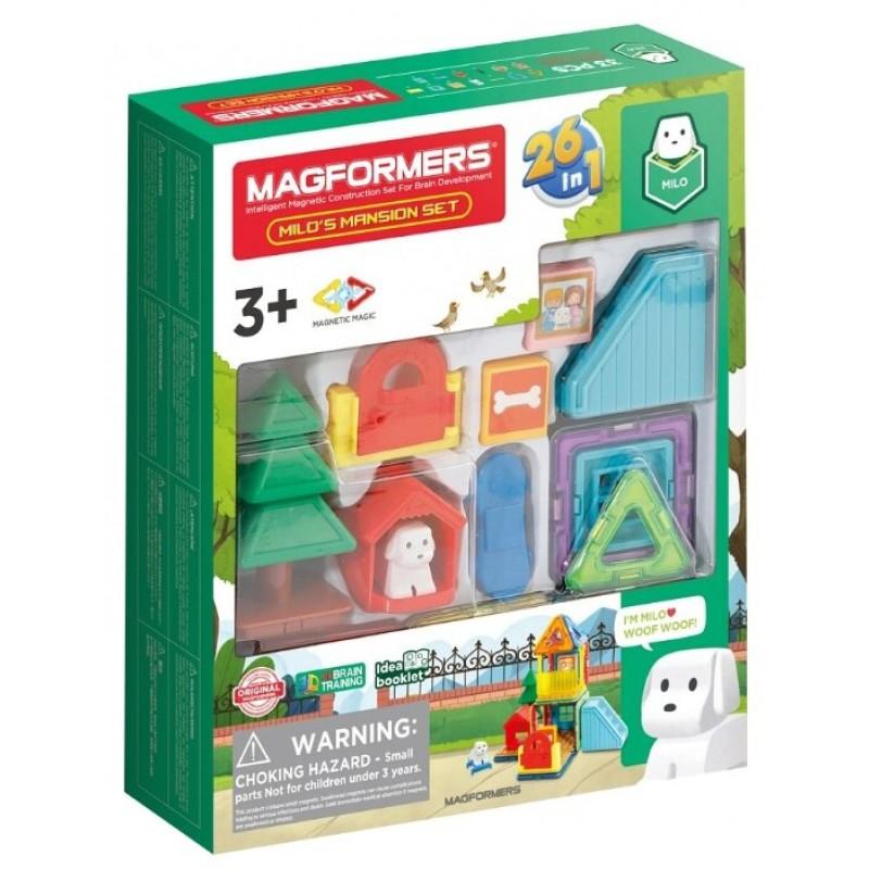 Магнитный конструктор Magformers Milo's Mansion Set (705011)