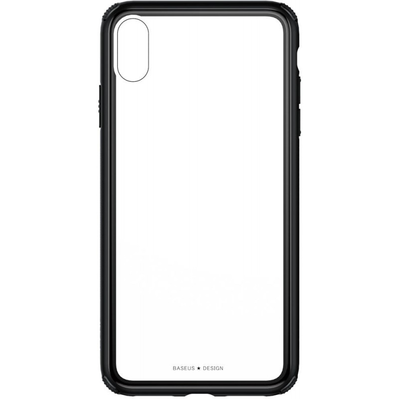 Чехол Baseus See-through Glass (WIAPIPH65-YS01) для iPhone Xs Max (Black)