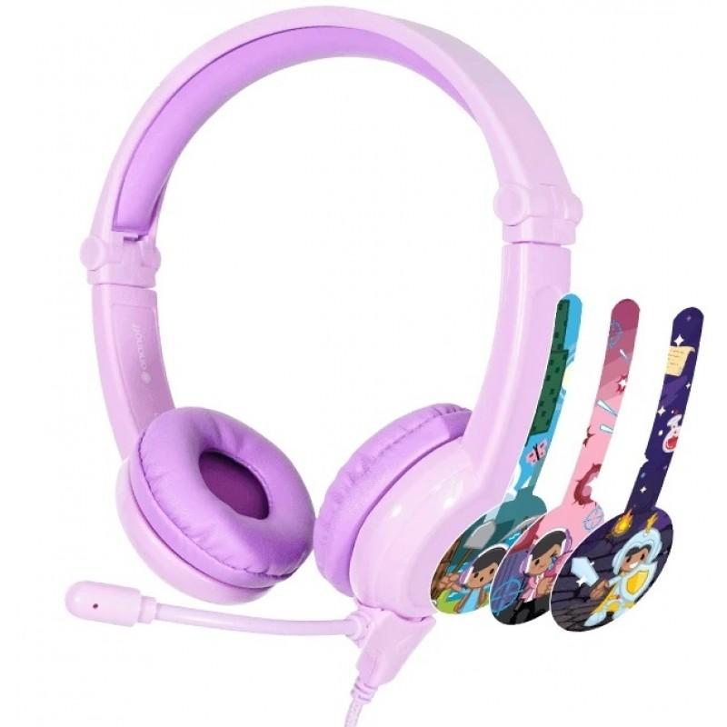 Детские наушники BuddyPhones Galaxy (Purple)
