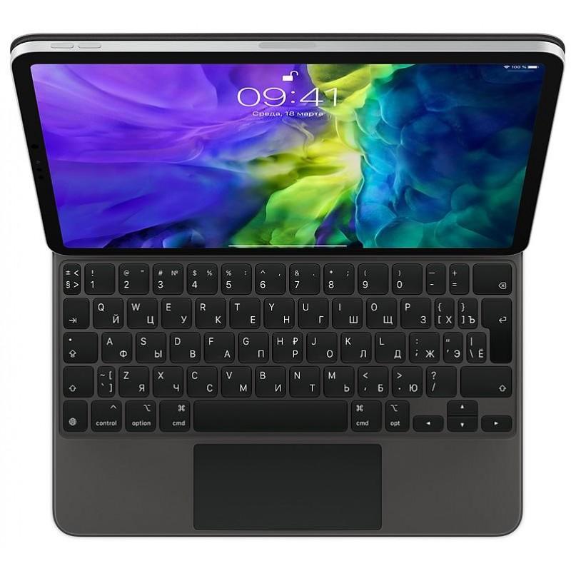 Чехол-клавиатура Apple Magic Keyboard (MXQT2RS/A) для iPad Pro 11 (Black)