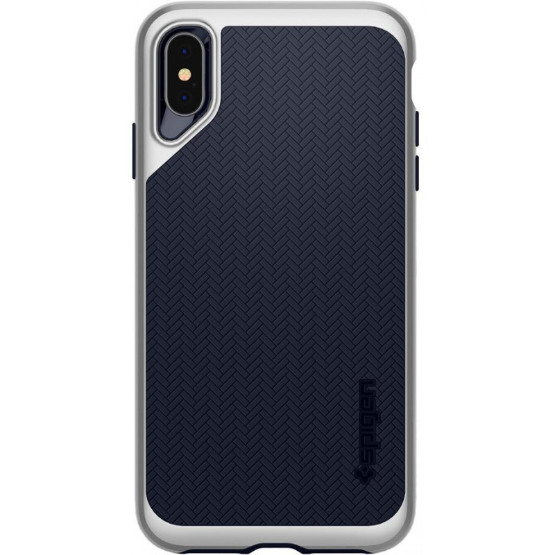 Чехол Spigen Neo Hybrid (065CS24840) для iPhone XS Max (Silver)