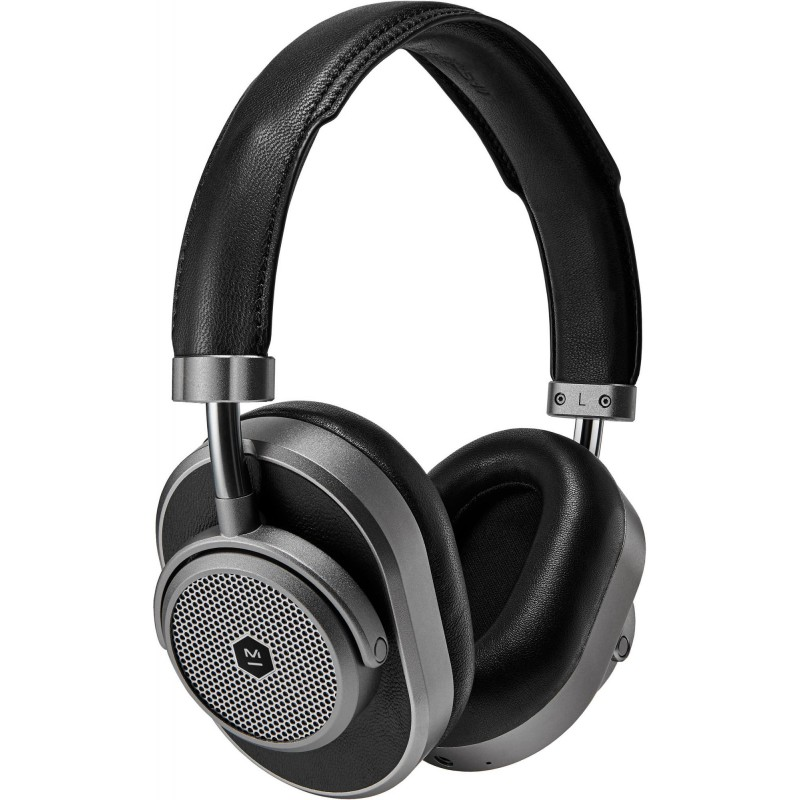 Bluetooth-наушники с микрофоном Master&Dynamic MW65 ANC (Gunmetal/Black Leather)