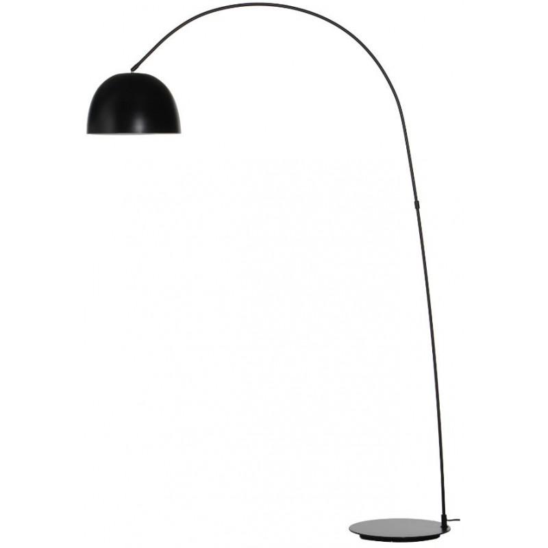 Лампа напольная Lucca черная матовая