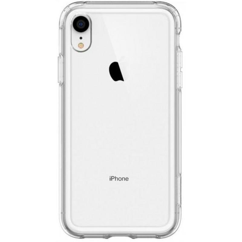 Чехол Spigen Crystal Hybrid (064CS25150) для iPhone XR (Crystal Clear)