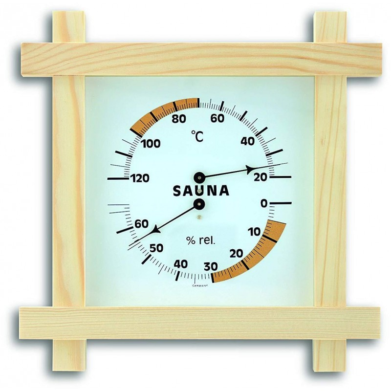 Термогигрометр TFA 40.1008 для сауны (Wood)