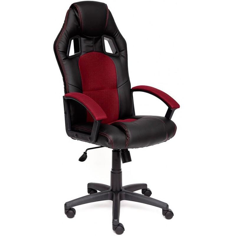 Игровое кресло Tetchair Driver 10373 (Black/Bordeaux)