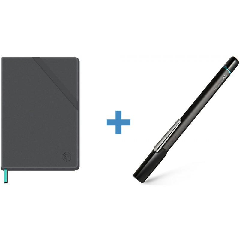 Цифровая ручка Neo smartpen N2 (Titan Black) + Тетрадь N professional notebook