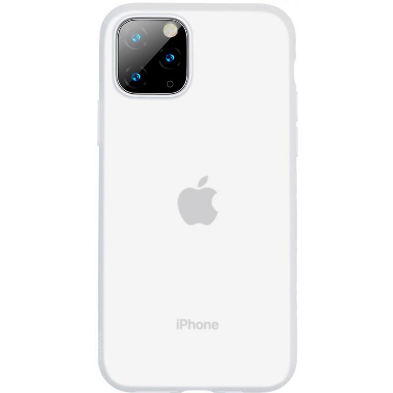 Чехол Baseus Jelly Liquid Silica Gel (WIAPIPH65S-GD02) для iPhone 11 Pro Max (Transparent White)