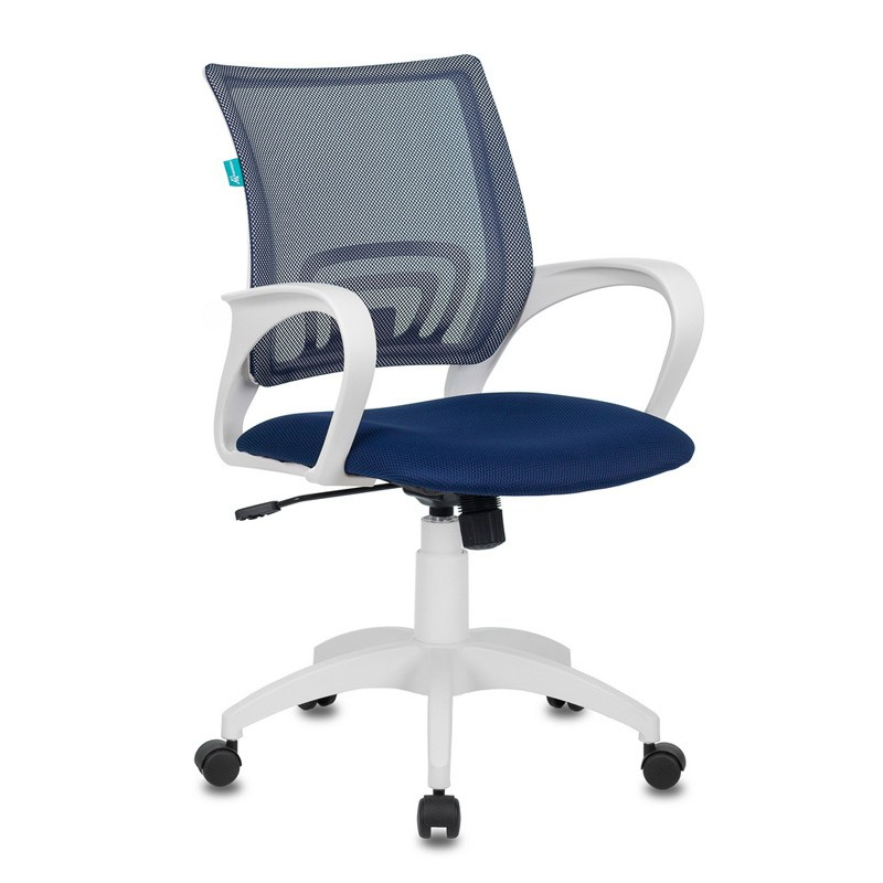Офисное кресло Бюрократ CH-W695N/DB/TW-10N (Dark Blue/White)