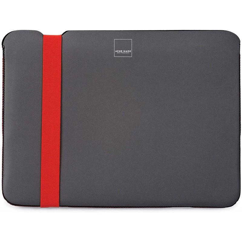 Чехол Acme Skinny Sleeve L (AM10721) для MacBook Pro 15'' (Grey/Orange)