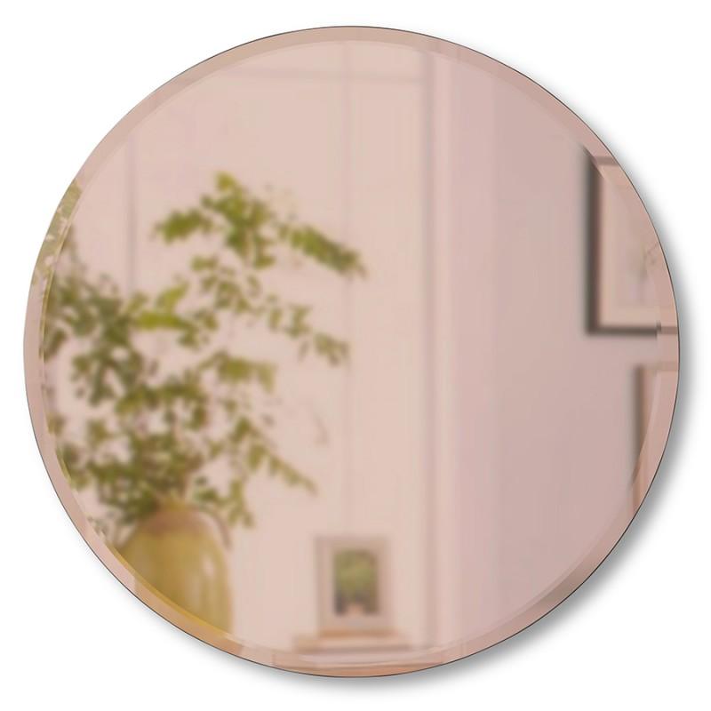 Зеркало настенное Umbra Hub D91 см медь