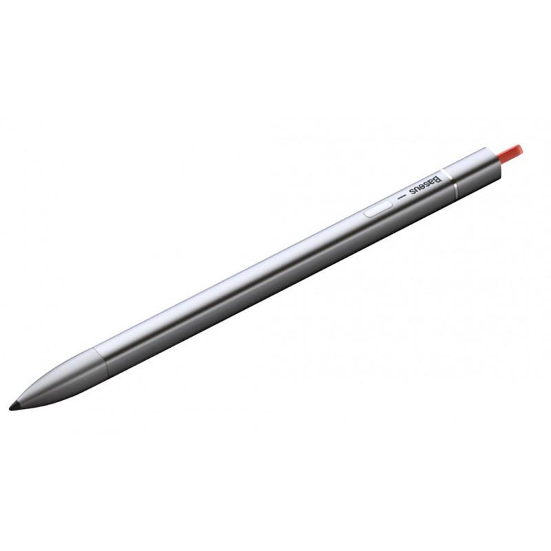 Стилус Baseus Square Line Capacitive Stylus ACSXB-A0G (Silver)