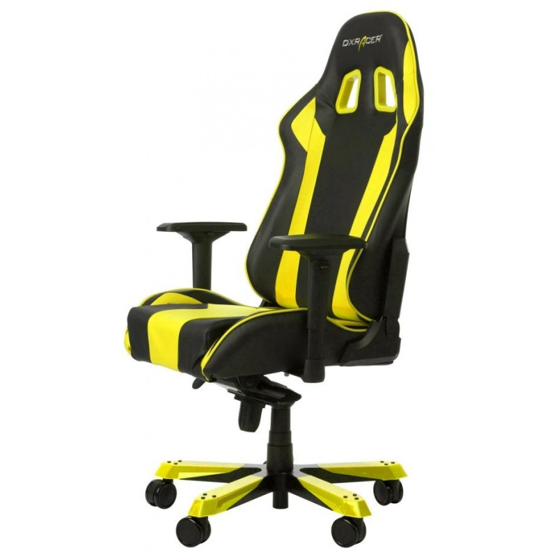Игровое кресло DXRacer OH/KS06/NY (Black/Yellow)