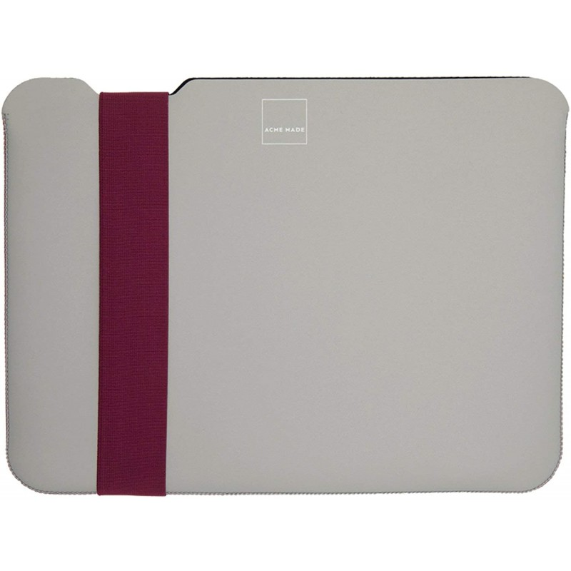 Чехол Acme Skinny Sleeve M (AM10351) для MacBook Air/Pro 13'' (Grey/Fuchsia)