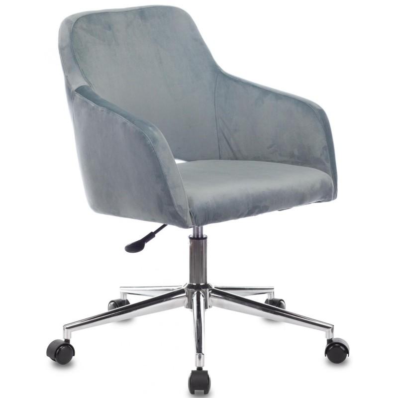 Офисное кресло Бюрократ CH-380SL Italia 21 (Blue Steel)