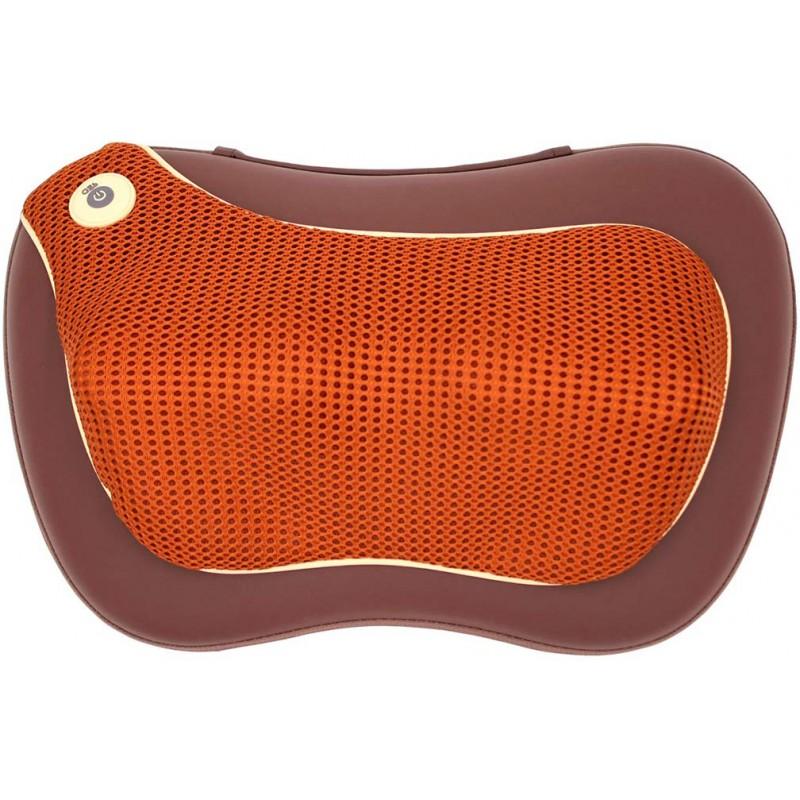 Массажная подушка GESS uTenon с акупунктурной накидкой (Brown)
