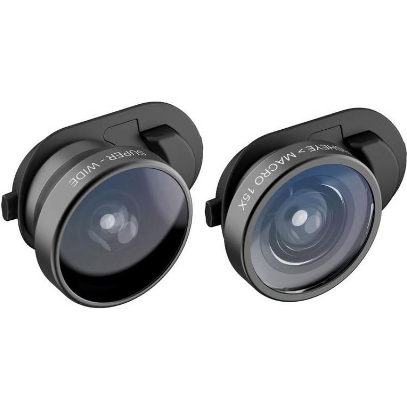 Объектив Olloclip Core Lens Set (OC-0000315-EU) для iPhone Xs Max (Black)