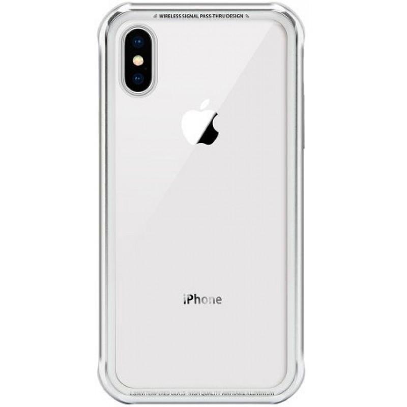 Чехол SwitchEasy iGlass для iPhone XS (Silver)