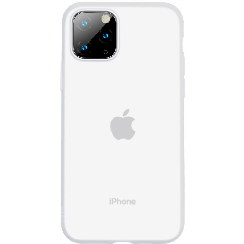 Чехол Baseus Jelly Liquid Silica Gel (WIAPIPH58S-GD02) для iPhone 11 Pro (Transparent White)