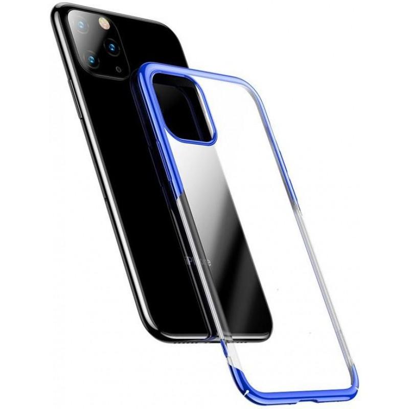 Чехол-накладка Baseus Glitter Case (WIAPIPH65S-DW03) для iPhone 11 Pro Max (Blue)
