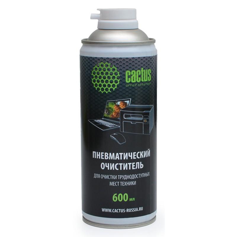 Пневматический очиститель Cactus CS-Air600 для очистки техники 600ml (Black)