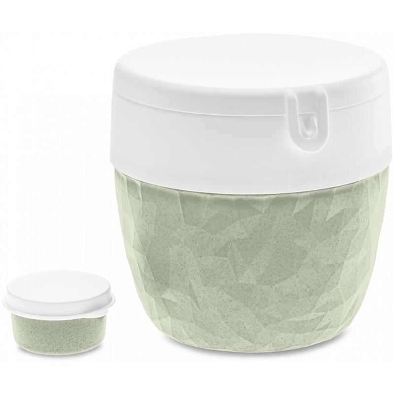 Ланч-бокс Koziol Club Bento Organic зеленый