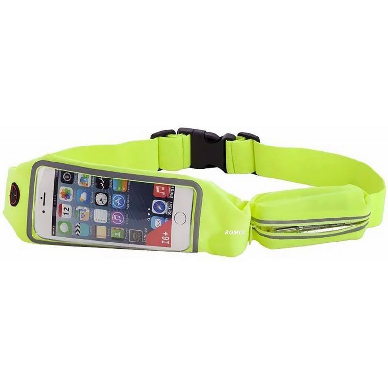 Спортивный чехол на пояс Romix Touch Screen Waist Bag (RH16-5.5GN) для смартфона 5.5
