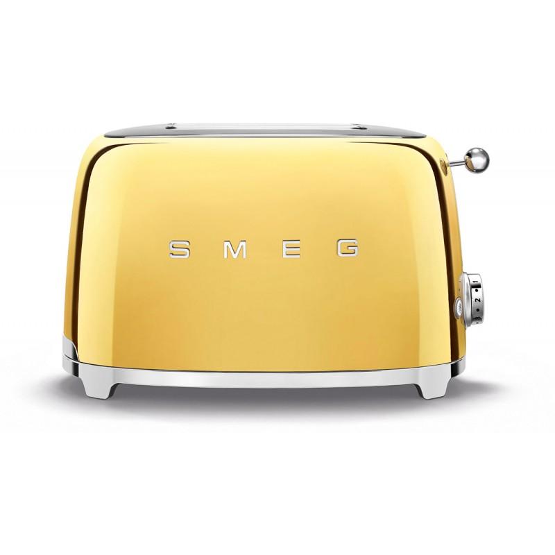 Тостер Smeg (TSF01GOEU) на 2 ломтика (Gold)