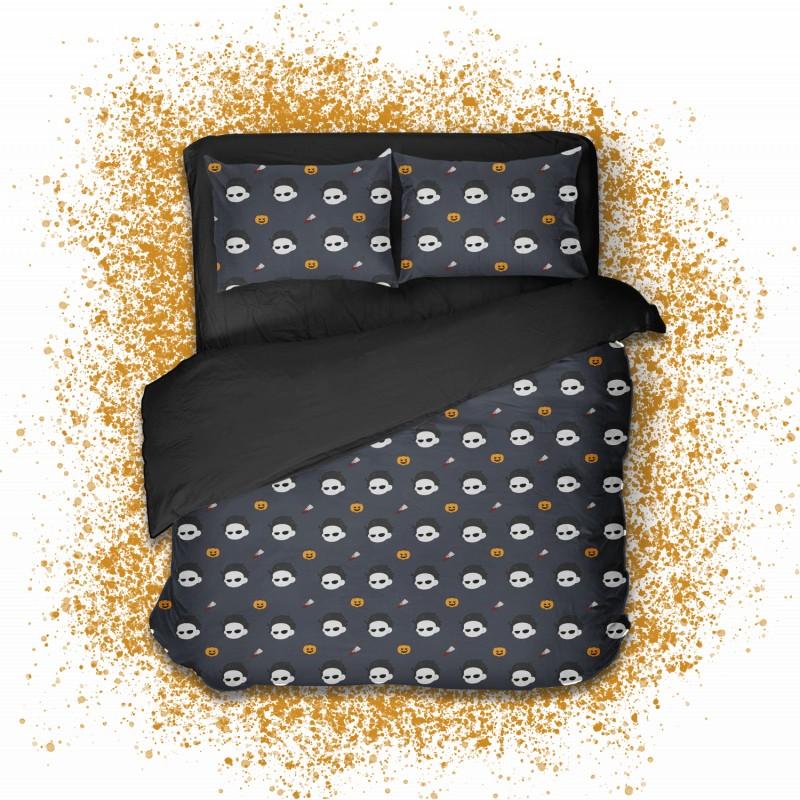 Геймерское постельное белье SleepHard 1.5-спальный (Halloween)
