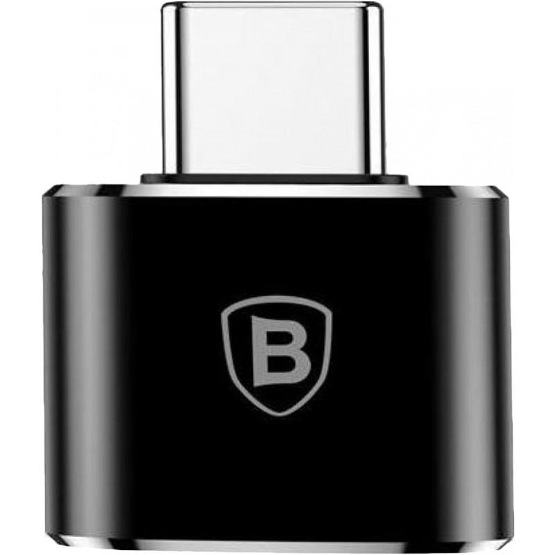 Переходник Baseus Adapter Converter USB-C - USB-A CATOTG-01 (Black)
