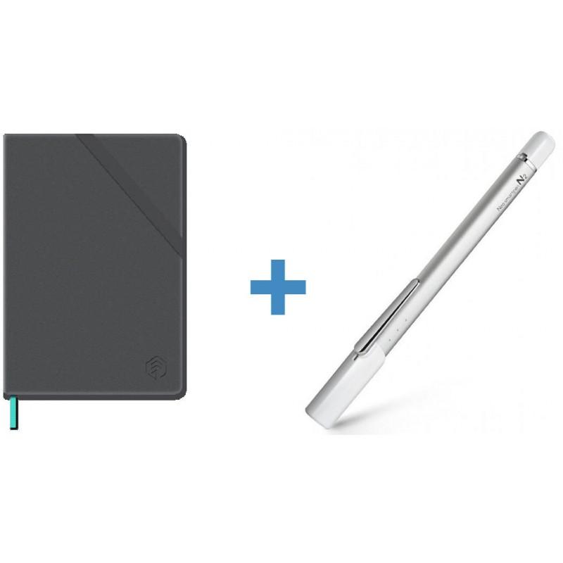 Цифровая ручка Neo smartpen N2 (Silver White) + Тетрадь N professional notebook