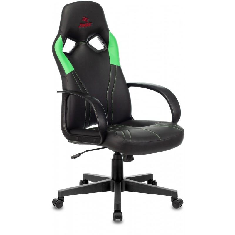 Игровое кресло Бюрократ ZOMBIE RUNNER (Green)