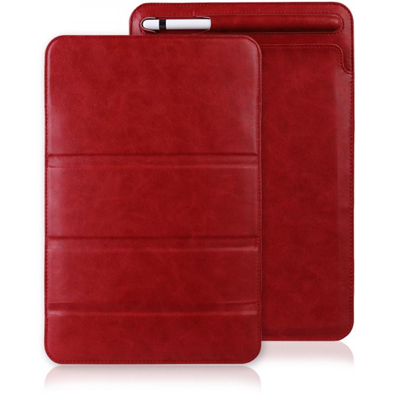 Чехол Jisoncase Mircofiber Leather (JS-PRO-40M30) для iPad Pro 11 (Red)