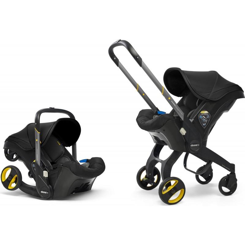 Коляска-автокресло Doona Infant Car Seat 0+ (Nitro Black)