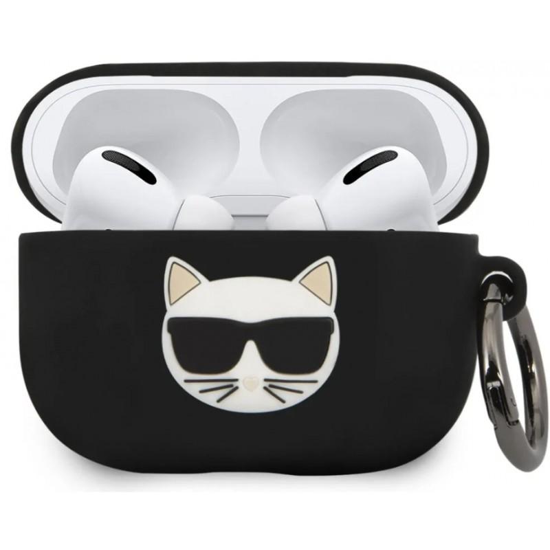 Чехол Karl Lagerfeld Silicone Case (KLACAPSILCHBK) для AirPods Pro (Black)