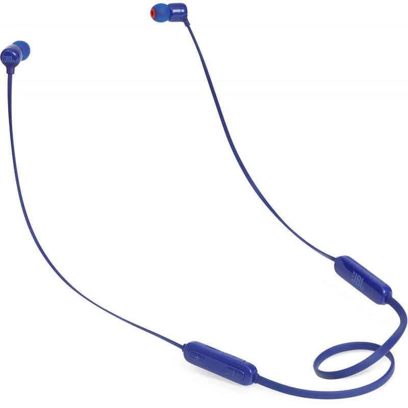 Bluetooth-наушники JBL T110BT с микрофоном (Blue)