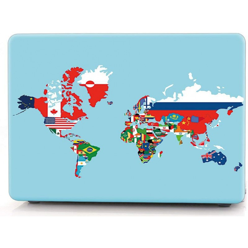 Накладка i-Blason Cover для MacBook Pro 15 2016 A1707 (Flag World Map)