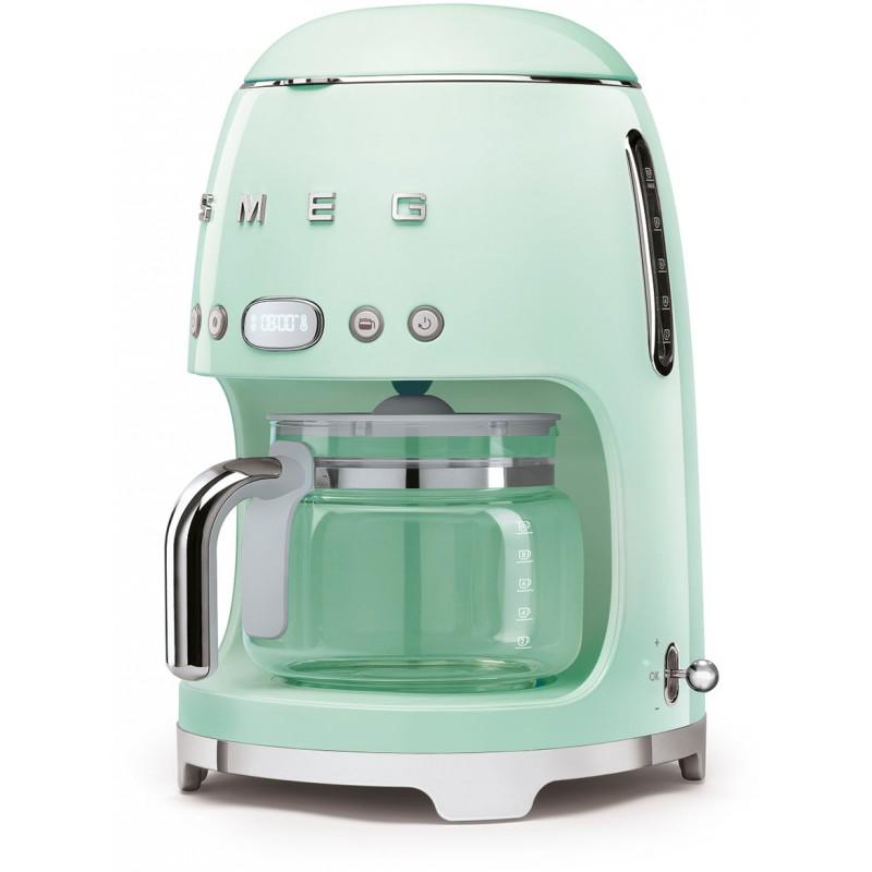 Капельная кофемашина Smeg DCF02PGEU (Pastel Green)