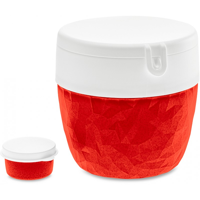Ланч-бокс Koziol Bentobox L Organic красный