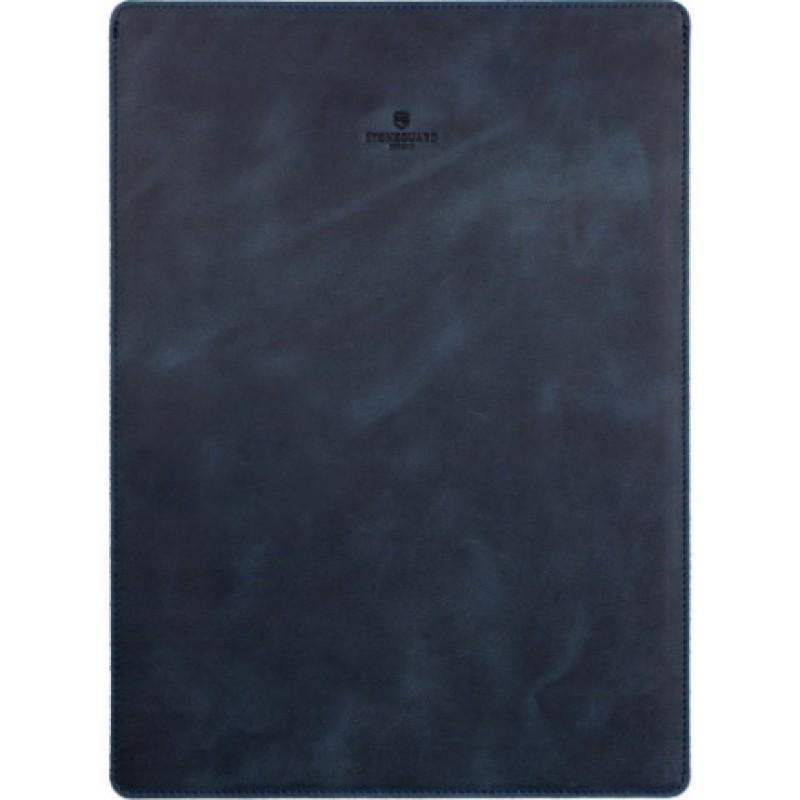 Кожаный чехол Stoneguard 511 (SG5110502) для MacBook 12 (Ocean)
