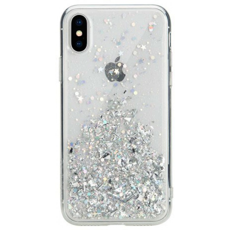 Чехол SwitchEasy Starfield для iPhone XS (Ultra Clear)