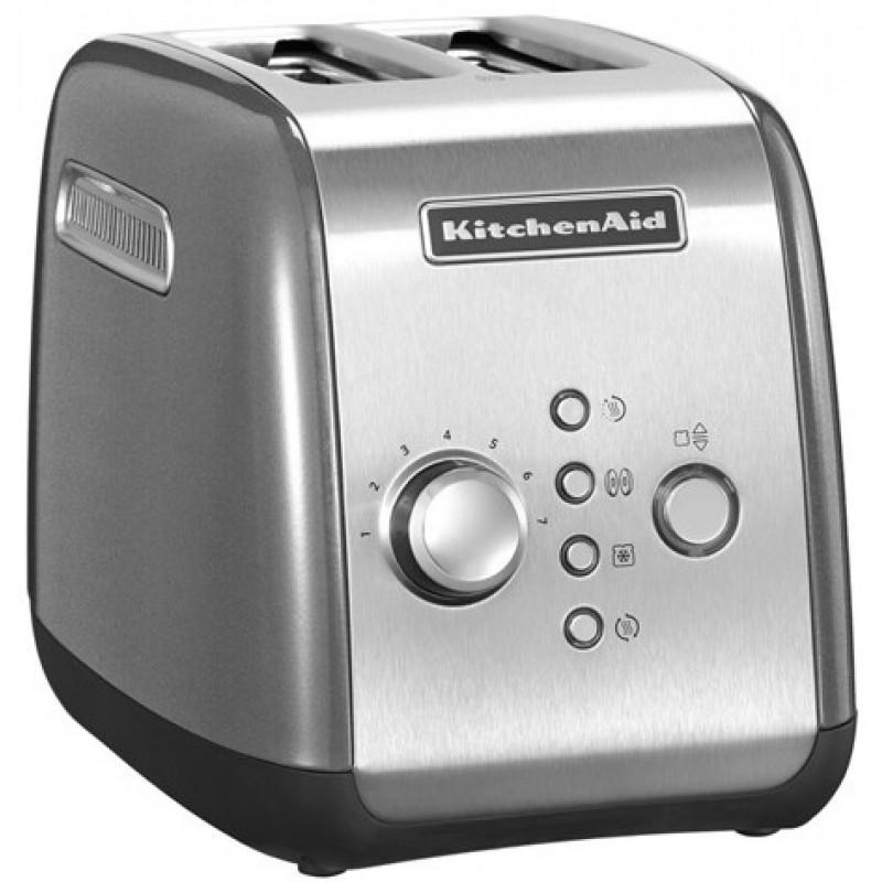 Тостер на 2 хлебца KitchenAid KMT221 2-slice Toaster 5KMT221ECU (Contour Silver)