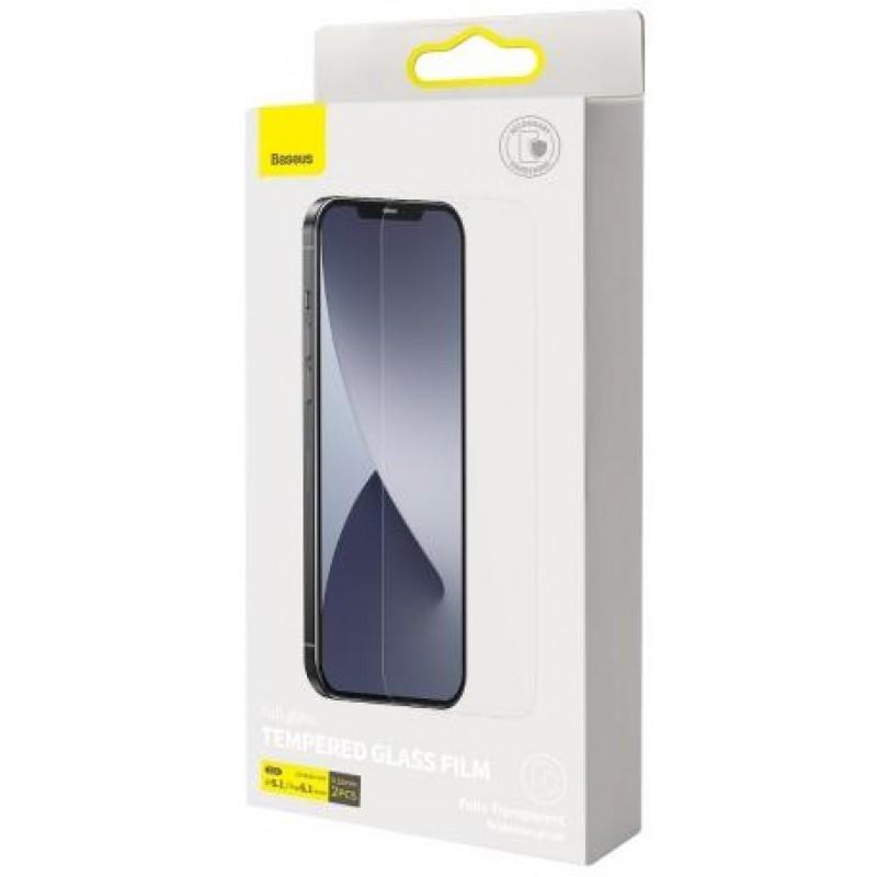 Защитное стекло Baseus Tempered Glass Film (SGAPIPH61P-FM02) для iPhone 12/12 Pro (Clear)