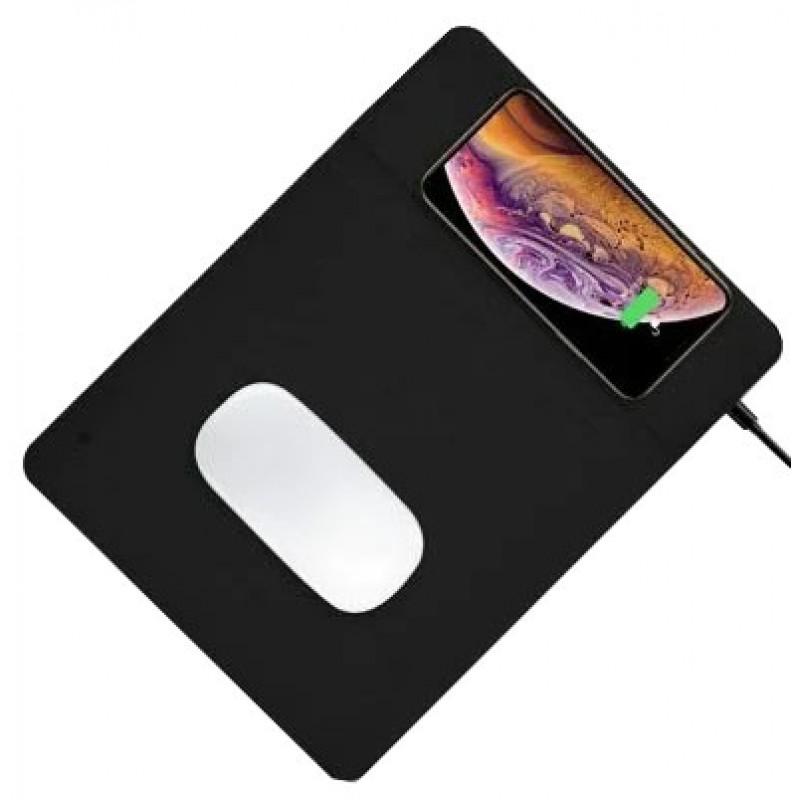 Коврик для мыши COTEetCI Wireless Charger Mouse Pad (CS5186-BK) с беспроводной зарядкой (Black)