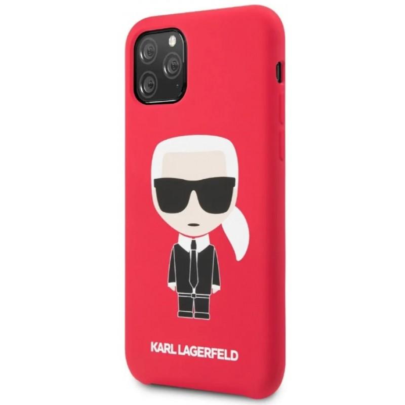 Чехол Karl Lagerfeld Liquid Iconic (KLHCN58SLFKRE) для iPhone 11 Pro (Red)