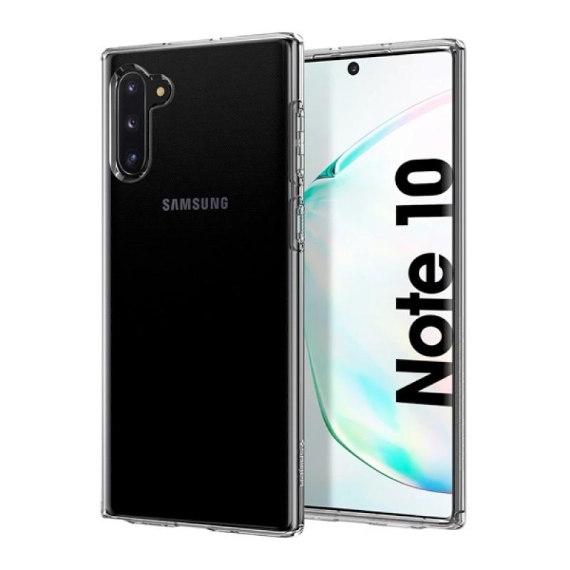 Чехол-накладка Spigen Crystal Flex (628CS27407) для Samsung Galaxy Note 10 (Clear)