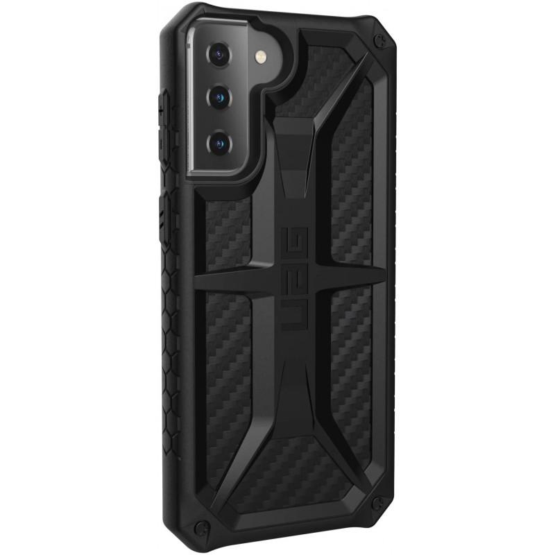 Чехол UAG Monarch (812451039269) для Samsung Galaxy S21 Plus 5G (Carbon Fiber)
